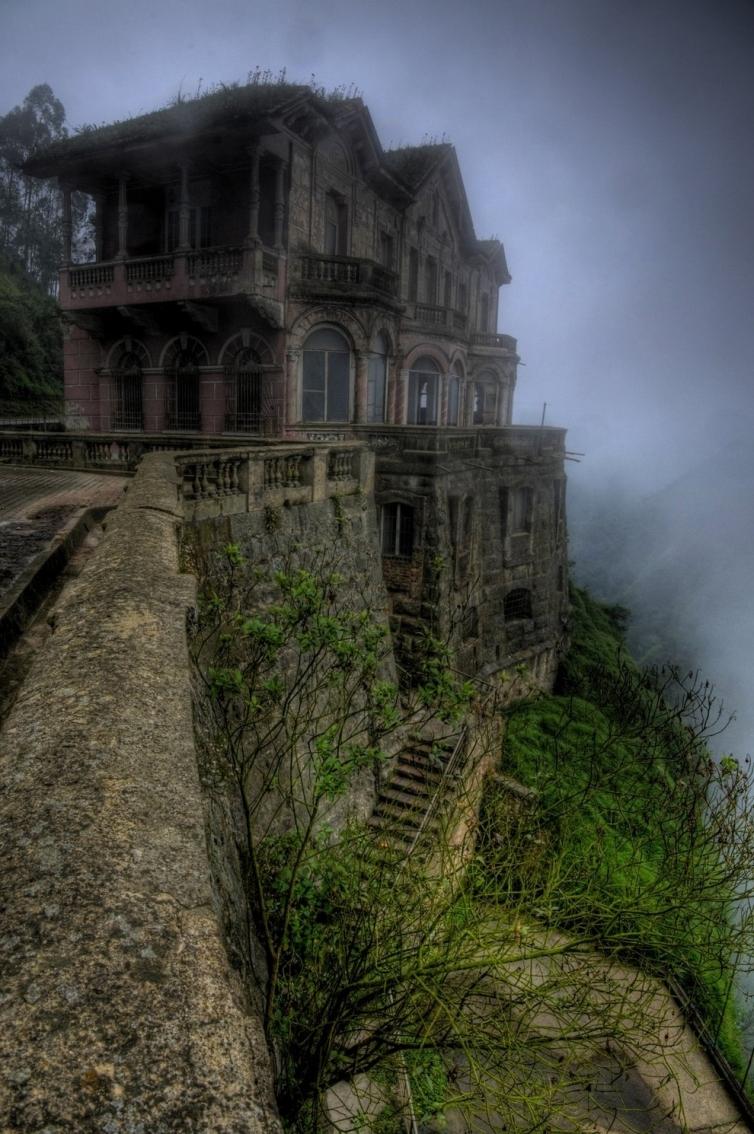 30. El Hotel del Salto in Colombia